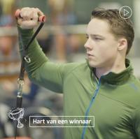 Hart van een winnaar Jeroen Kampschreur Papendal
