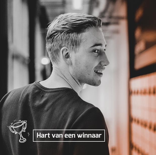 Hart van een winnaar Jeroen Noah van Dam Papendal