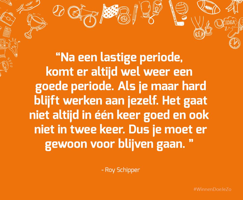 Quote Roy Schipper